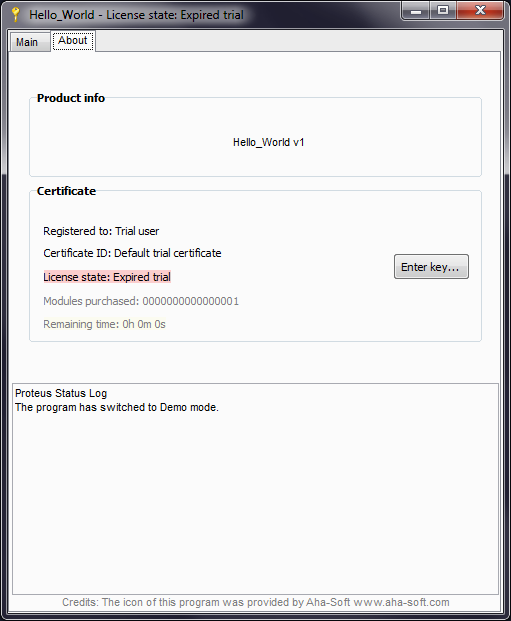 Proteus License Manager VCL is a Delphi licensing system  Proteus
